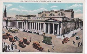New York City Pennsylvania Railroad Station