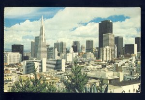 Santa Clara, California/CA Postcard, View Of Skyline