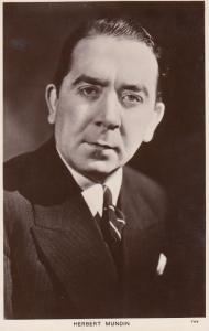 Herbert Mundin Picturegoer Vintage Photo Postcard