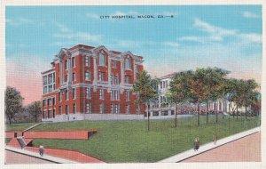 MACON, Georgia, 1930-1940s; City Hospital