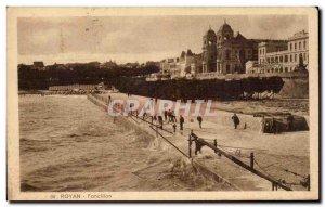 Old Postcard Royan Foncillion
