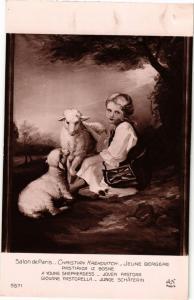 CPA Salon de Paris 5571 CH. KREKOVITCH - Jeune Bergere (216094)