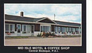 Mid Isle Motel & Coffee Shop, Central Bedeque, Prince Edward Island, Canada, ...
