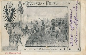 Military ; Italy , 1900-10s : Reggimento Fanteria Viva, Savoia!