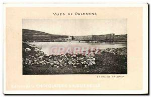 Old Postcard From Palestine Views From Solomon Pond