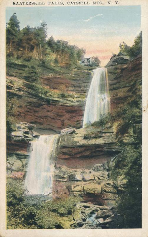 Kaaterskill Falls in the Catskill Mountains NY, New York - WB
