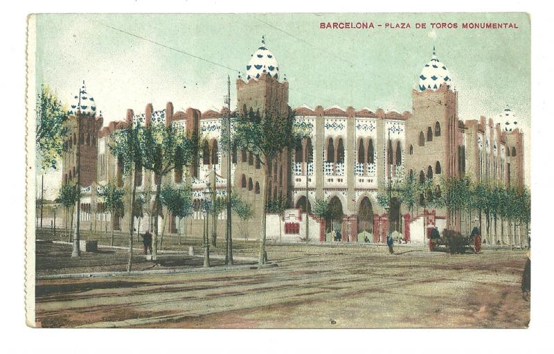 BARCELONA, Plaza De Toros Monumetal