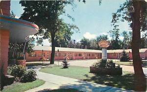 Mayfair Motel, Portage La Prairie, MB, Manitoba, Canada, pre zip code Chrome