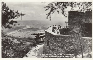RP: LOOKOUT MOUNTAIN , Tennessee , 1930-40s ; View from Och's Memorila