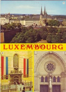 CONTINENTAL-SIZE 1983 LUXEMBOURG 1) LA CATHEDRALE - 2 + 3) LES PORTAILS