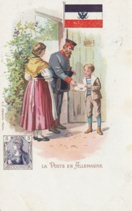 La Poste en Allemagne , 1902