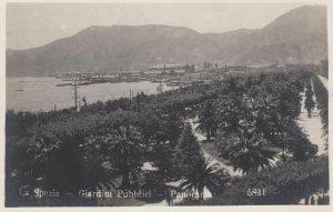 RP: LA SPEZIA, Liguria, Italy, 1900-1910's; Giardini Pubblici