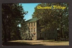 NJ Deserted Village of ALLAIRE NEW JERSEY PC Postcard