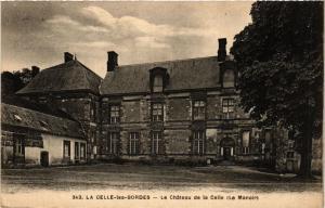 CPA La CELLE-les-BORDES - le Chateau de la CELLE (Le Manoir) (352898)