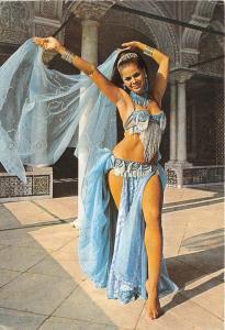 B91151 la danseuse ahlem dance types folklore  tunisia