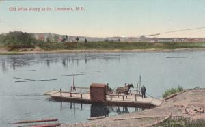Old Wire Ferry , ST LEONARDS , New Brunswick , Canada , 1900-10s