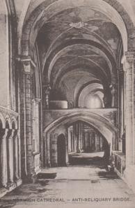 St Marys Church Burgh St Peter Plain Back Vintage Norfolk Postcard