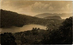 PC CPA real photo postcard INDONESIA (a16604)