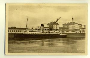 ft1158 - Channel Ferry in Calais Harbour , France - postcard