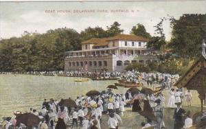 New York Buffalo Boat House Delaware Park