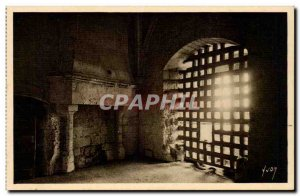 Loches - The Castle - The Keep - Dungeon of Duke & # 39Alencon - Old Postcard