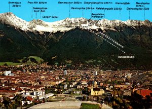 Austria Innsbruck Panoramic View
