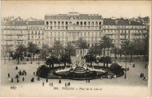 CPA Toulon Place de la Liberte FRANCE (1095663)