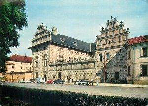 Postcard Czech republic praha prague prag schwarzenbersky palace architecture