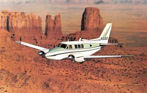 The Beechcraft Queen air a 80 Airplane Unused