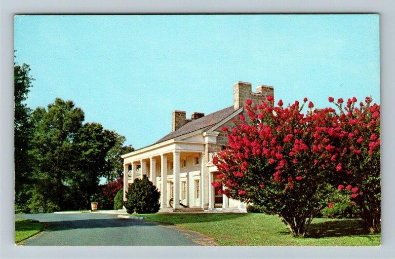 Ft Oglethorpe GA- Georgia, Chickamauga Visitor Center, Vintage Chrome Postcard