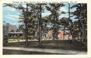 Tallahassee Florida~State College For Women Campus~1920s Postcard