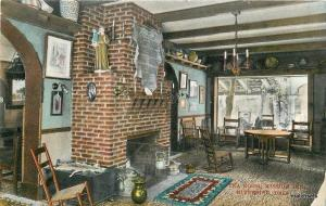 C-1915 Tea Room Mission Inn Riverside California MacFarlane postcard 157