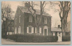 New Castle DE~Chief Justice Kensey Johns House~c1910 Postcard