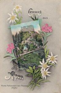 Germany Gruss aus den Alpen Ruine Falkenstein bei Pfronten Allgäu 03.29