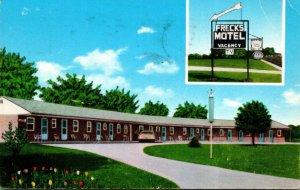 New York North Tonawanda Freck's Motel 1966