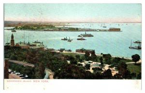 Early 1900s Governors Island, NY Postcard *5N1