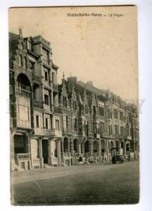 147429 BELGIUM MIDDELKERKE BAINS Pension Vintage postcard