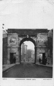 Londonderry Bishop Gate Rapid Photo Postcard