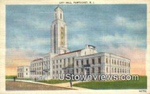 City Hall - Pawtucket, Rhode Island