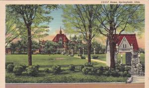 SPRINGFIELD , Ohio , 1942 ; IOOF Home