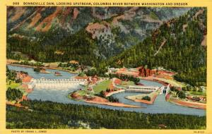 OR - WA: Bonneville Dam, Columbia River
