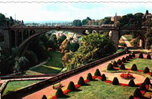 Aerial View of Pont Adolphe, Luxembourg, 10-20s