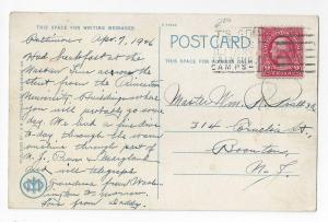 Baltimore MD Armory Fifth Regiment 1926 Postcard
