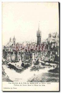 Old Postcard Morlaix Vue Generale of the city of Morlaix