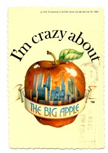 NY - New York City. I'm crazy about the Big Apple