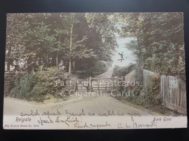 Surrey: Reigate, Park Gate c1905 Pub by The Wrench Series No.6082