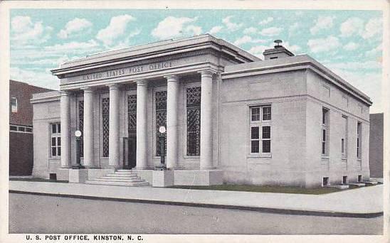 North Carolina Kinston U S Post Office