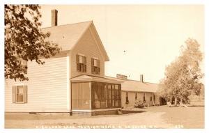 New Hampshire  East Andover ,  Highland Lake Tourist Home Hotel ,  RPC
