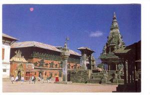 Nepal , 40-60s ; Bhaktapur Durbar Square , KATHMANDU