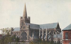 DUBLIN , Ireland , 1910s; St Patrick's Cathedral
